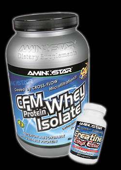 CFM Whey Protein Isolate + Creatine