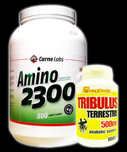 Amino 2300 800 tablet + Tribulus Te