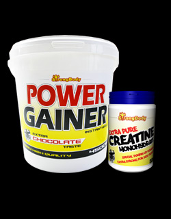 Power Gainer + Kreatin Monohydrate