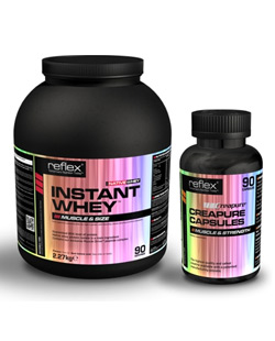 Instant Whey NATIVE 2,27 kg + Creap