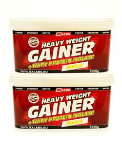 2x Heavy Weight Gainer 3000g