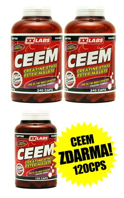 2x Creatine ethyl ester malate 240c