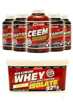 Whey Protein Isolate 2200g + CEEM 2
