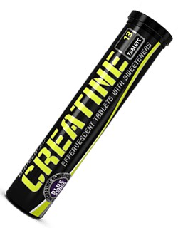 CREATINE - ŠUMIVÉ TABLETY